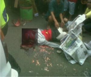 Kondisi korban setelah kejadian