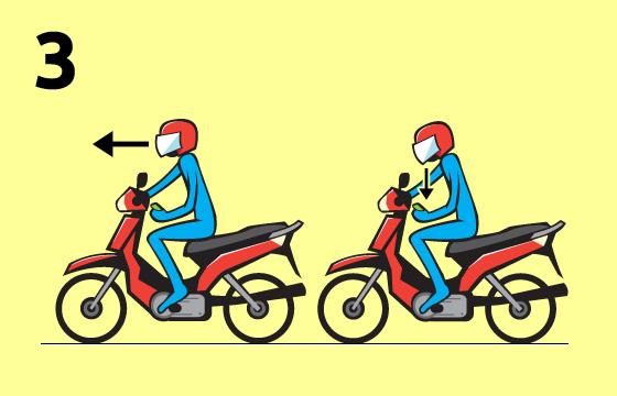 Tips Cara Ber Sms Sambil Mengendara Motor Kata Baru
