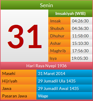 Info Harian